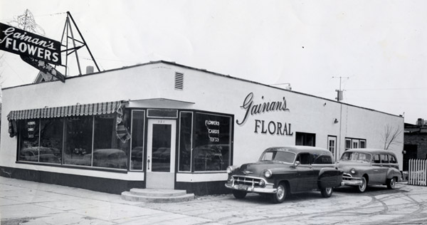 Gainan's Floral opened on April 28, 1951